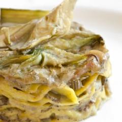 Lasagnetta Poverazze e Carciofi