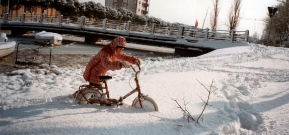 I bambini nella neve