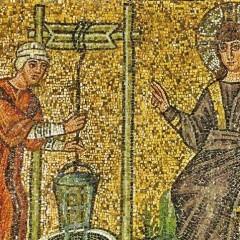 Un mosaico della Basilica di Sant'Apollinare Nuovo