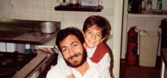 Gregorio e Andrea - anno 1992