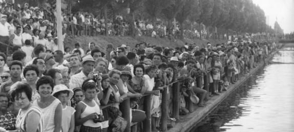 L'arrivo di Palooza, la folla