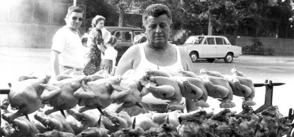 La Romagna delle Osterie - la cottura all'esterno