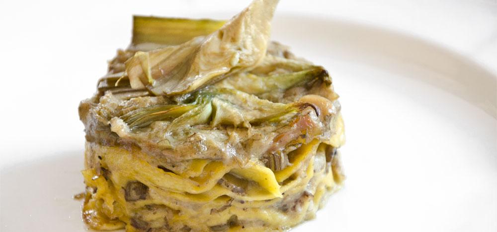 4-Lasagnetta poverazze e carciofi