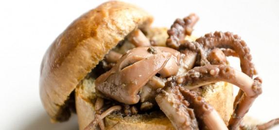 La Buca all'Istituto Alberghiero di Cervia: Moscardini nel pane