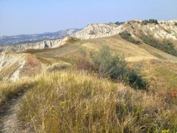 I nostri itinerari in Romagna: il Parco della Vena del Gesso Romagnola - panorama