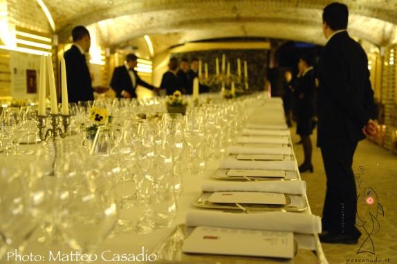 Cento Mani di Questa Terra - Edizione 2014 - la sala della cena