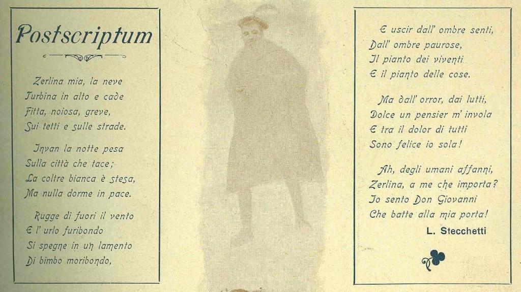 Lorenzo Stecchetti - postscriptum