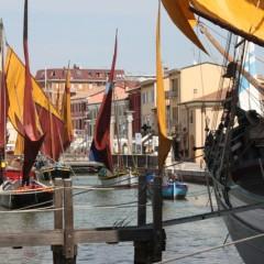 Le barche storiche del Museo della Marineria di Cesenatico